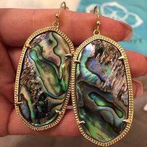 Kendra Scott Danielle Dangle Earrings Abalone